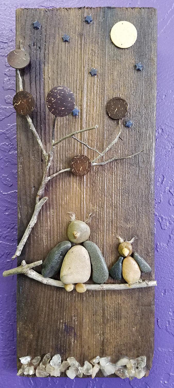 shelly-dax-pebble-art-owl