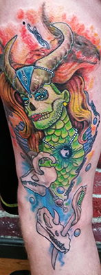 dragon lady tattoo shelly dax