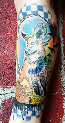 lone wolf tattoo shelly dax