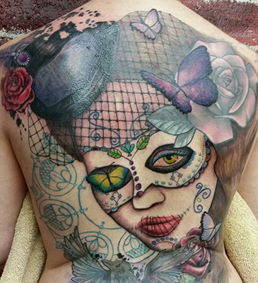 masquerade tattoo shelly dax